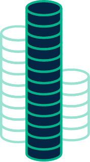 coin stack tall